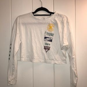 CONVERSE cropped long sleeve